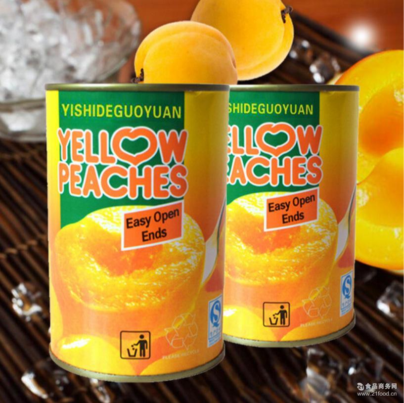 遗失的果园黄桃罐头425g*1罐装甜口感纯正厂家直销