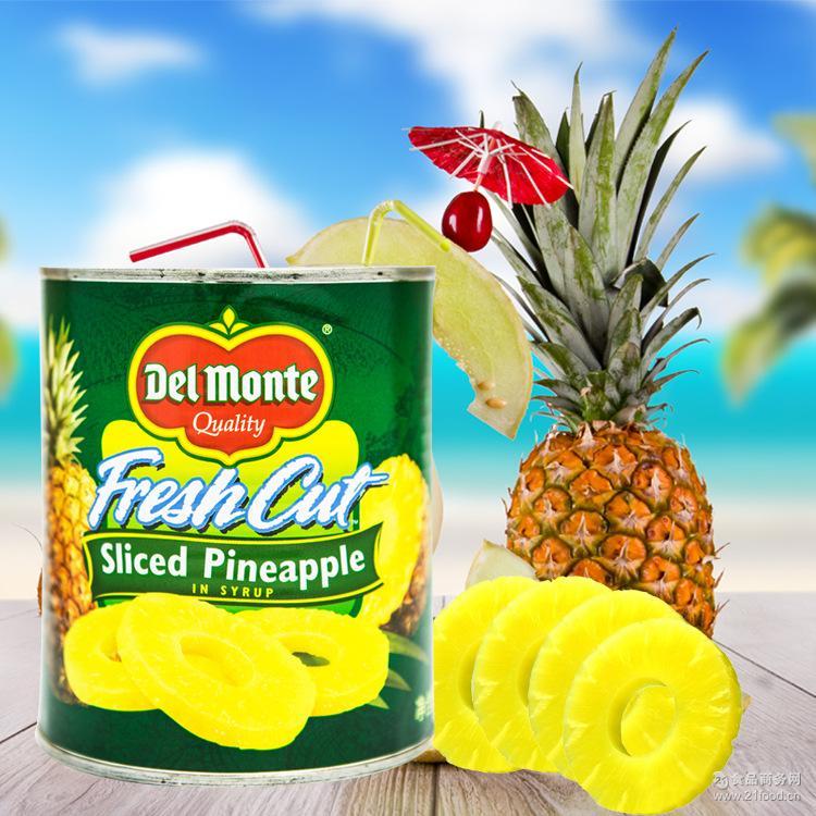 地扪糖水菠萝片(罐头)罐装 Monte Del 836g 新到!!菲律宾进口