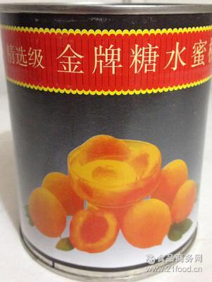 国产非进口 *糖水黄桃罐头烘焙820g*24/箱