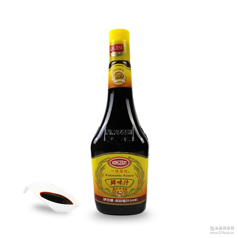 天禾一统原创鲜味汁800ml*6瓶 比雀巢更优餐饮*批发