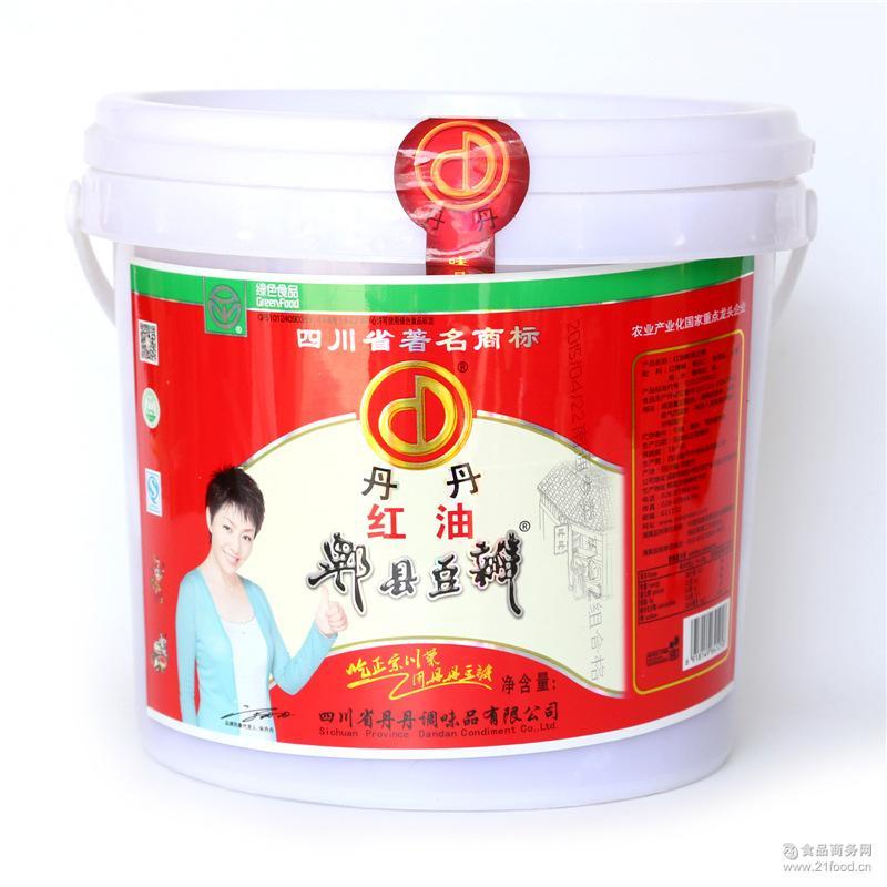 正品四川豆瓣酱 丹丹郫县豆瓣酱7Kg 厨房*调味酱 丹丹豆瓣酱