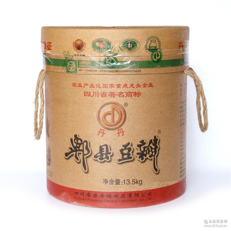 火锅*调味酱 正品奇郫县豆瓣酱 丹丹豆瓣酱 丹丹豆瓣酱13.5Kg