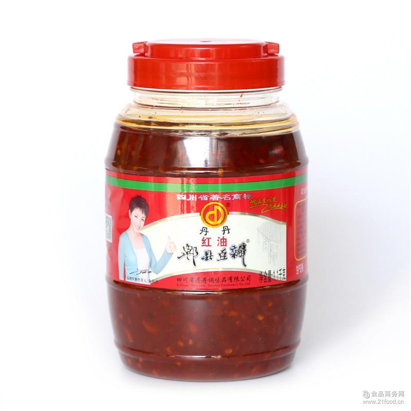 正品奇郫县豆瓣酱 厨房*调味酱 丹丹豆瓣酱1.1Kg 丹丹豆瓣酱
