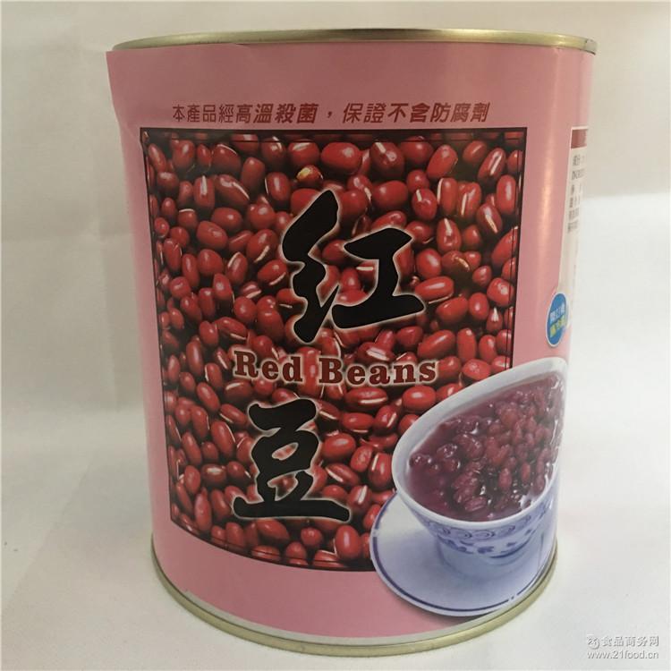 台湾大湖草莓农场产 大湖浓糖特级红豆3.4kg 台湾红豆 进口罐头