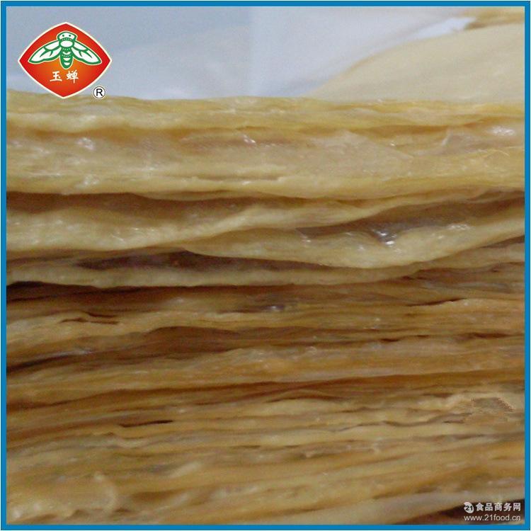 杭州厂家直销特级系列豆腐皮 东坞山豆腐皮