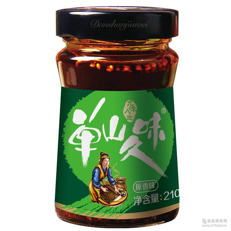 云南山菌菜210g*12 牛肝菌松茸香辣拌饭 单山蘸水厂家生产包邮