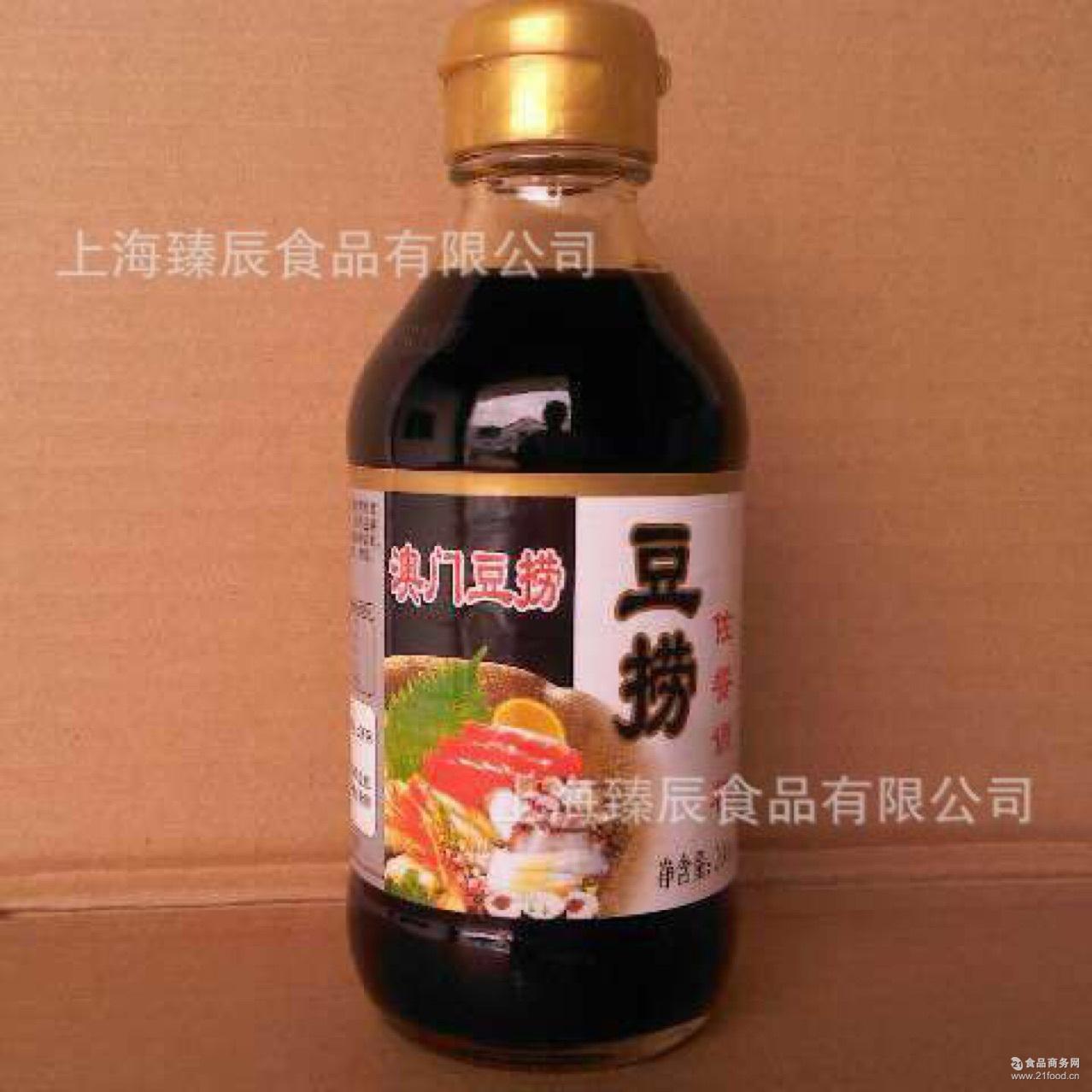 日式海鲜酱油 豆捞*酱油 澳门火锅豆捞酱油200g