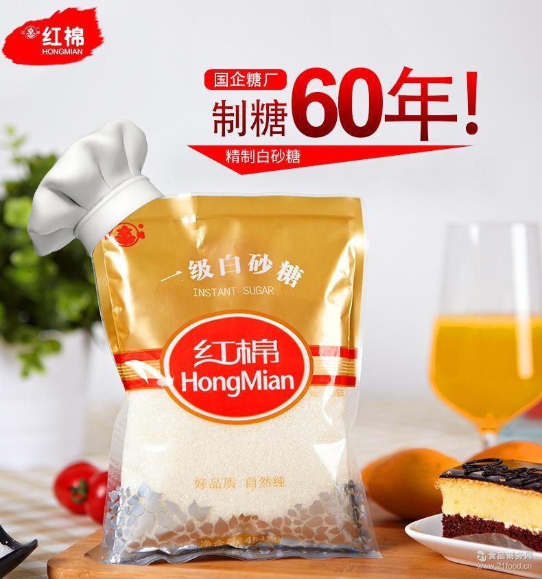 粗砂糖蔗糖厂家直销红棉牌一级白砂糖4国外猪肉a砂糖图片