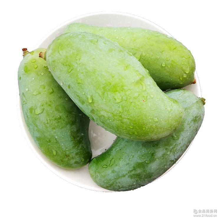 广西百色桂七芒果 优质新鲜水果青皮桂七香芒果 小果10斤装