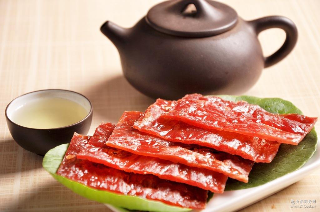 休闲食品即食肉脯现烤热卖蜜汗零食每罐200g猪肉脯胆结石喝酸奶图片