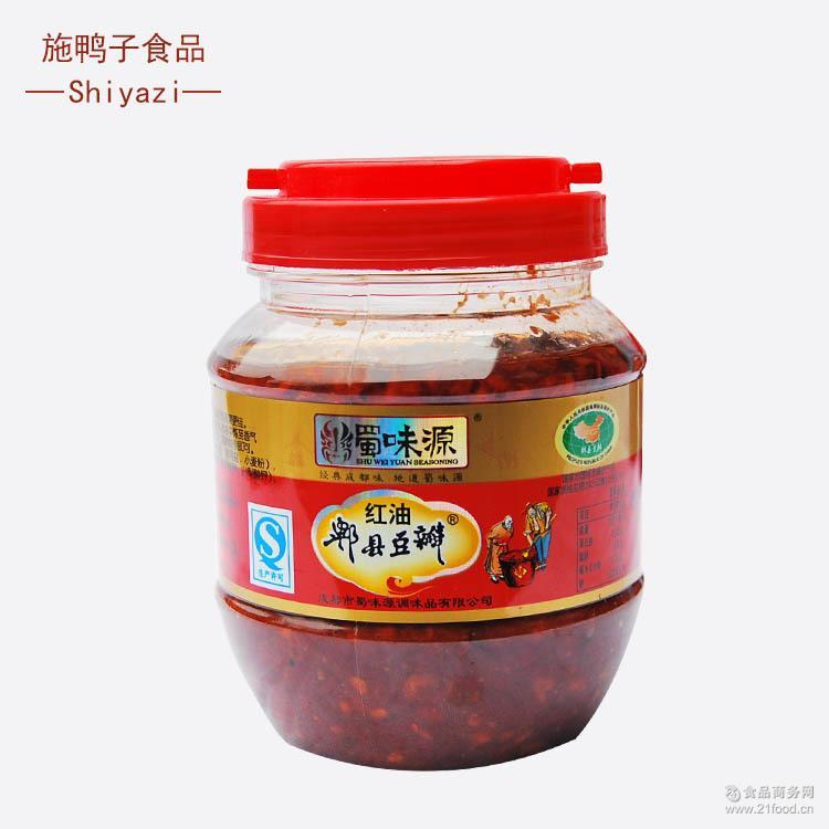 回锅肉 火锅底料专用红油豆瓣500g 四川特产 郫县豆瓣―蜀味源