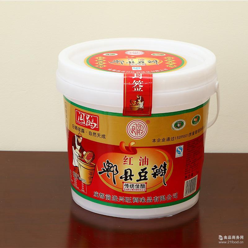 调味品 郫县红油豆瓣 原味酿造 色香味纯 烧菜调料