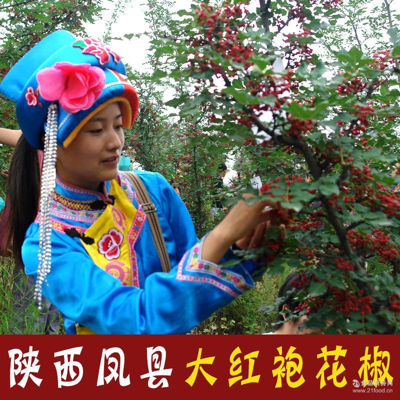 正宗陕西凤县大红袍花椒特级农家自产新鲜干红花椒调料