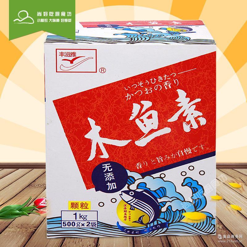名称:木鱼素 配料表:鲣鱼粉原料: 一种或多种鱼类 ; 中文名: 鱼粉 ; 外文名: fishmeal ; 替代产品: 发酵豆粕 ; 类型: 高蛋白质饲料原料 ; 、鲣鱼提取液、香菇萃取液、食用盐、白砂糖、葡萄糖别称: (2R,3S,4R,5R)-2,3,4,5,6-五羟基己醛、玉米葡糖、玉蜀黍糖 ; 化学式: C6H12O6、H12(CO)6 ; 安全性描述: 防止皮肤和眼睛接触 ; 外观: 白色无臭结晶性颗粒或晶粒状粉末 ; 应用: 可以用于补充体力.