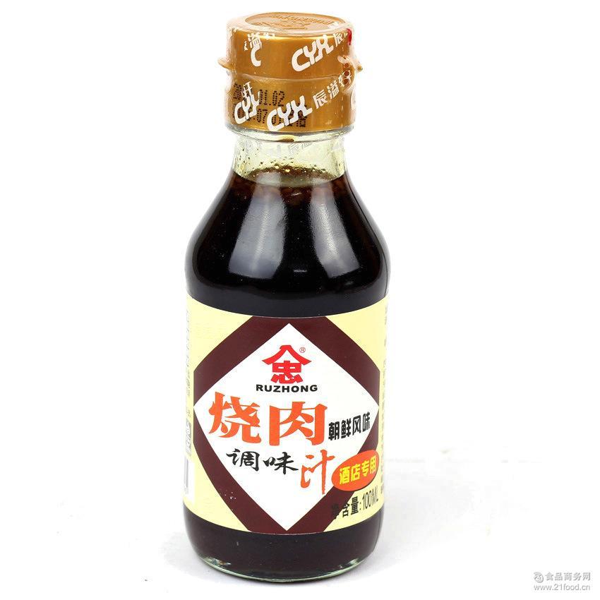 * 酱油风味 入忠牌烧肉汁 100ml家庭装日本料理调味品