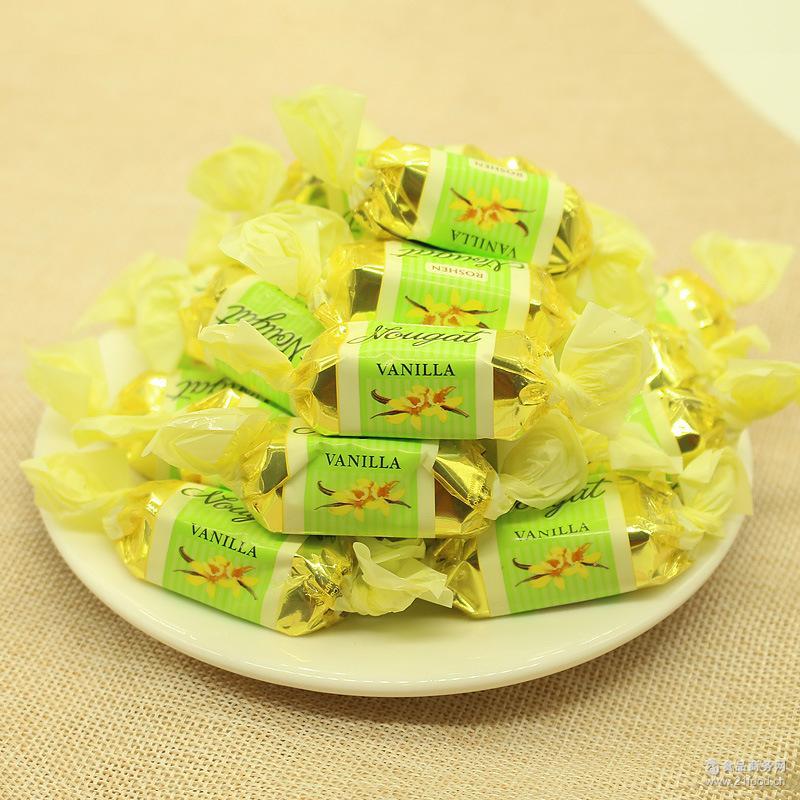 零食喜糖批发 俄罗斯进口乌克兰如胜慕斯牛轧巧克力糖果