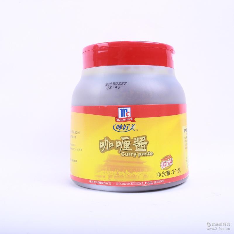 调料 酱料 供应味好美咖喱酱-1kg~6罐