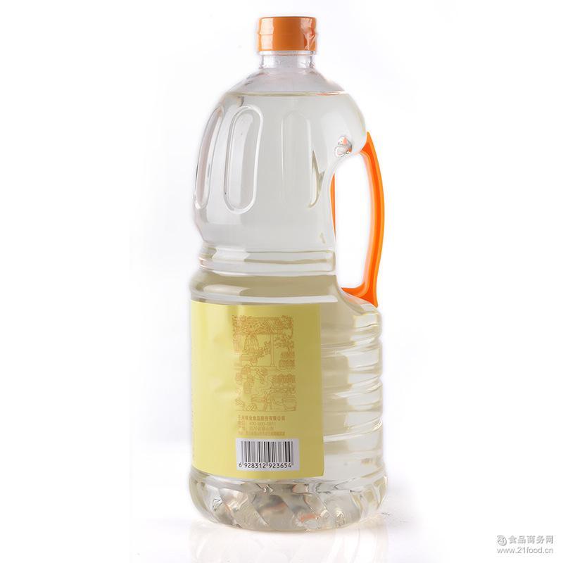 千禾白醋1.8L 米醋洗脸醋洗发醋 泡柠檬醋香蕉醋苹果醋