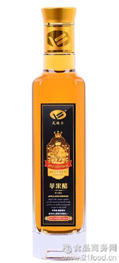 原醋 高端调味品 瓶装苹果醋500毫升 天然健康纯酿无添加
