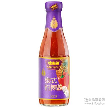 广州批发配送Master/味事达调味酱泰式甜辣椒酱360g甜辣开胃