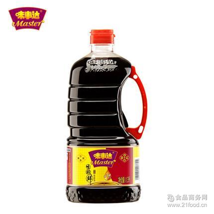 Master 闷煮烹调 广州批发配送味事达 味极鲜 1.3L 特级酱油