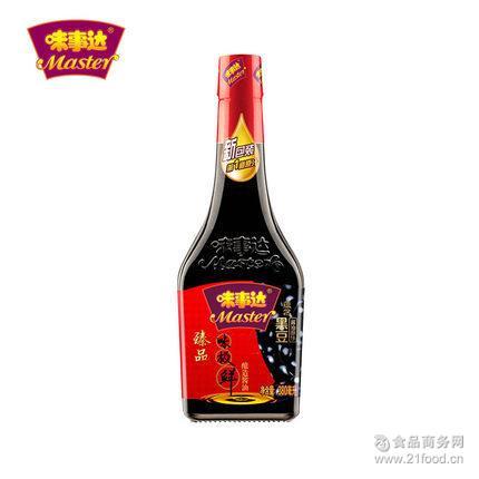 广州批发配送味事达*味极鲜生抽380ml 酿造酱油豉油