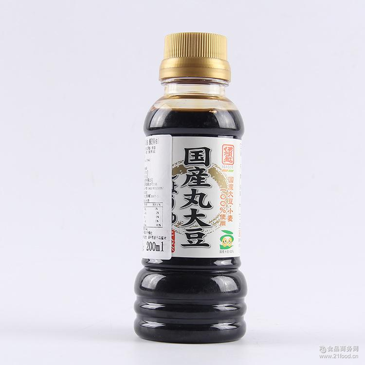 日本进口伊贺越传统浓口酱油