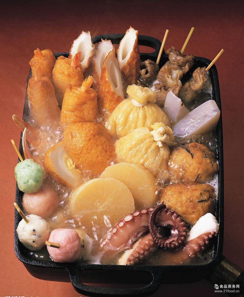 7-11* 特产冷冻关东煮食材800g火锅丸子批发串火锅料食材批发