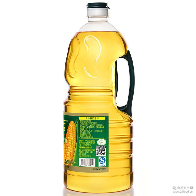 西王玉米胚芽油1.8L桶装食用油调和油粮油批发大批量联系客服改价