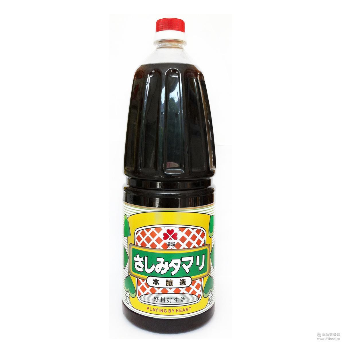 溜溜酱油1.8L大瓶装料理调料日本日式调理酱油日本料理蘸料