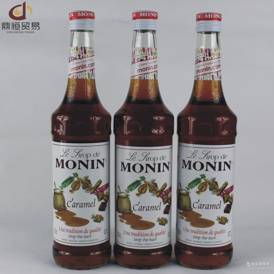 调酒用具 萨酷了斯糖浆 MONIN焦糖风味糖浆 供应咖啡物料 莫林