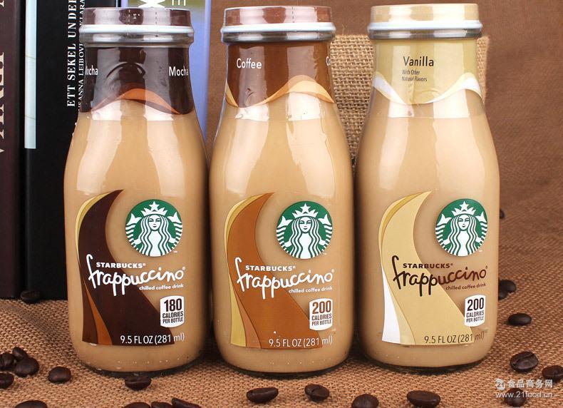 进口食品批发盒装星巴克原装星巴克瓶装零食星冰乐咖啡饮料美国版