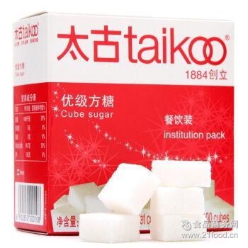 454克原包装100粒 Taikoo太古 咖啡调糖 优级方糖