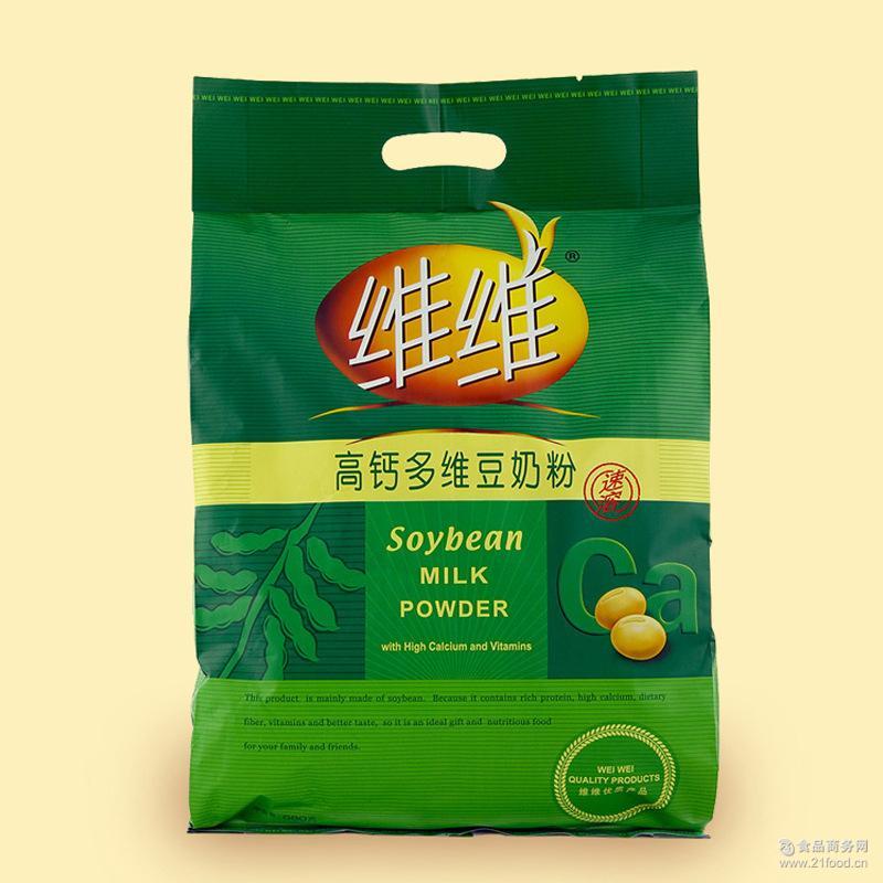 维维高钙多维豆奶680g营养豆奶粉早餐香醇浓厚营养速溶冲饮
