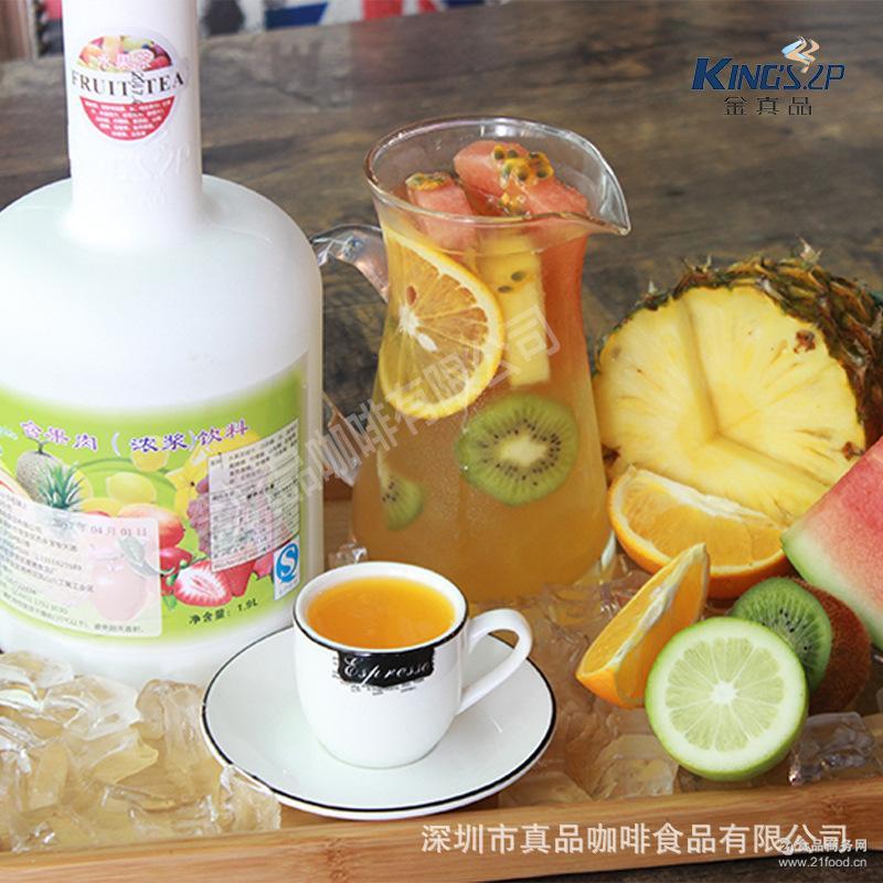 特调水果茶汁 深圳水果茶浓浆原材料