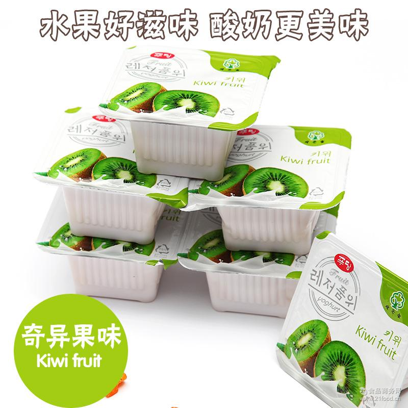 各口味可混批 韩国果之味果味酸奶600ml*8排/箱 进口食品批发