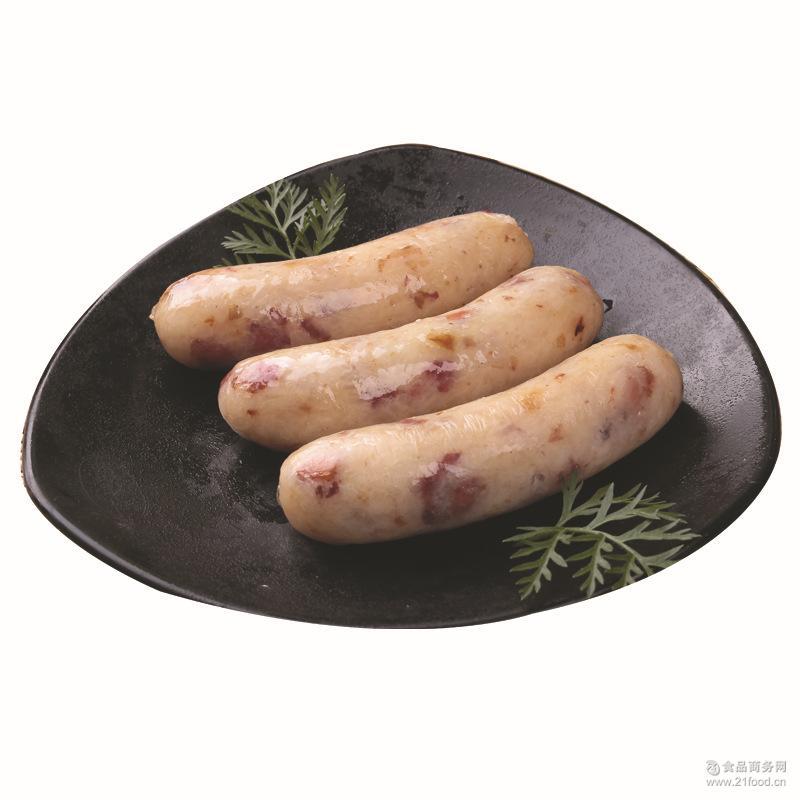 【三统万福】宝石珍珠肠 台式香肠正宗糯米花生热狗烤肠 批发