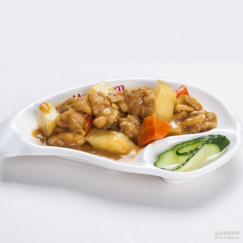 速食方便 蒸烩煮调理包料理包速冻快餐餐包批发 咖喱鸡肉170g