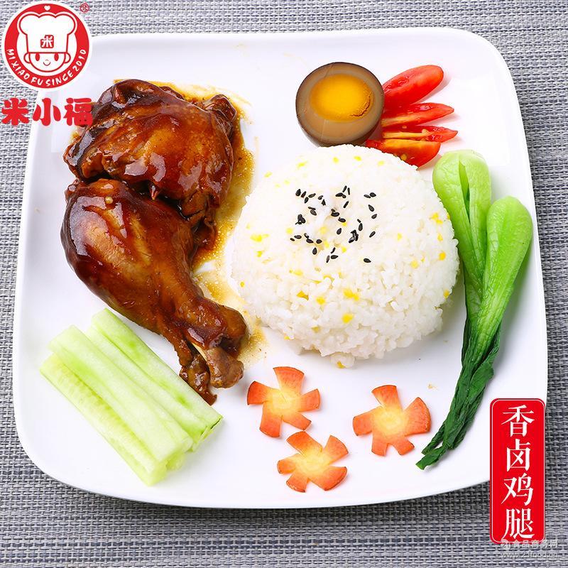 香卤鸡腿200g速食料理包加热即食中西餐调理包外卖网咖菜肴包批发
