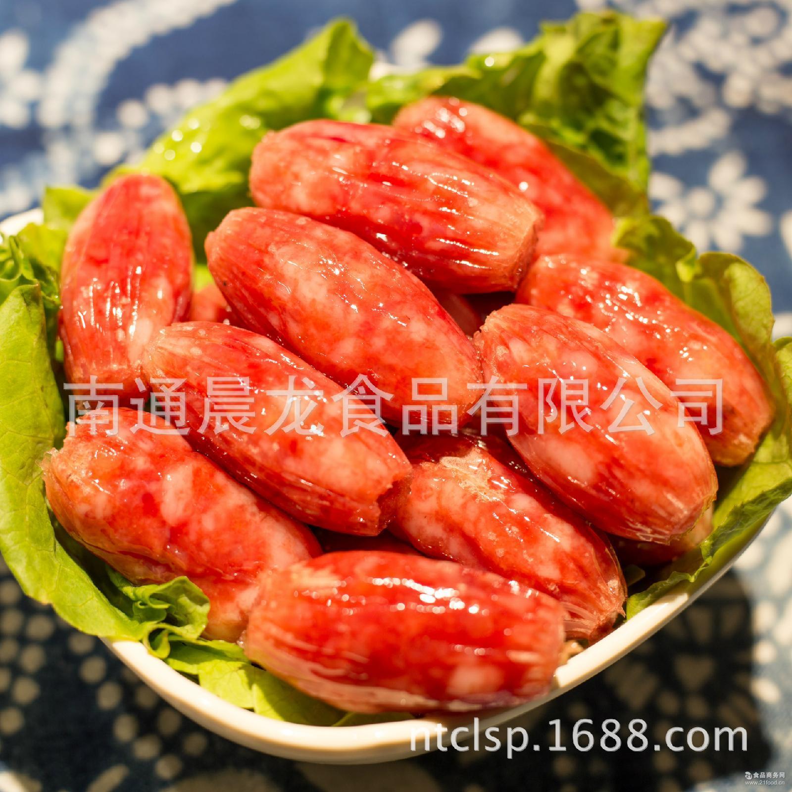 厂家直销批发 南通晨龙如皋特产农家手工制作散装猪肉枣