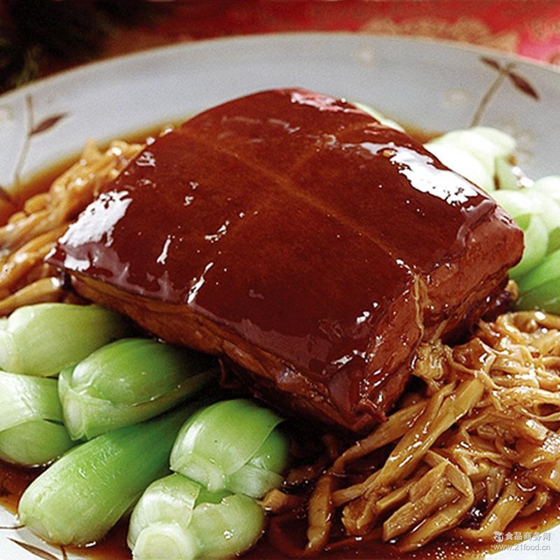 新品秘制东坡肉真空包装冷冻食品熟食红烧肉 午餐肉卤制扣肉