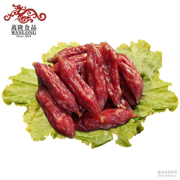 万隆优级香肠500g 广式腊肠枣肠熟食 批发 杭州特产老字号 团购