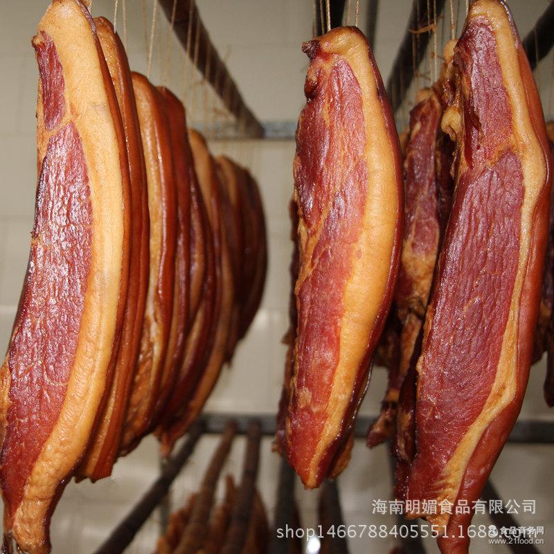 正宗农家自己制土猪腊肉腌肉熏肉贵州湖南土特产烟熏500g大量批发