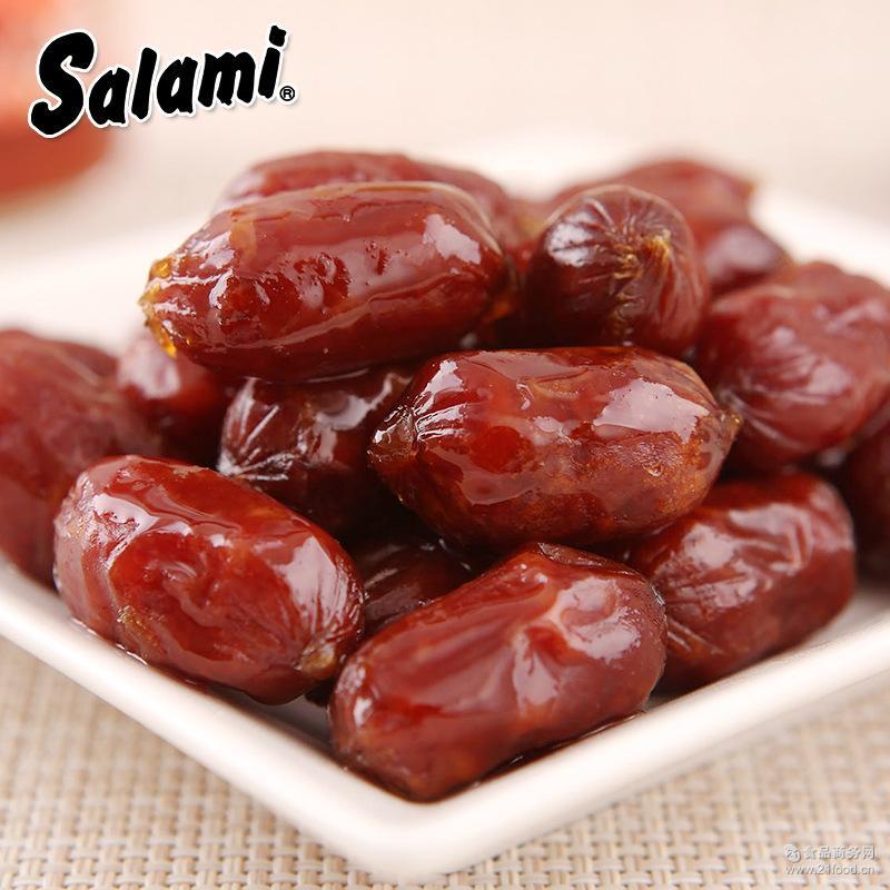 温州萨啦咪Salami肉类即食零食28g*60包BB猪肉枣
