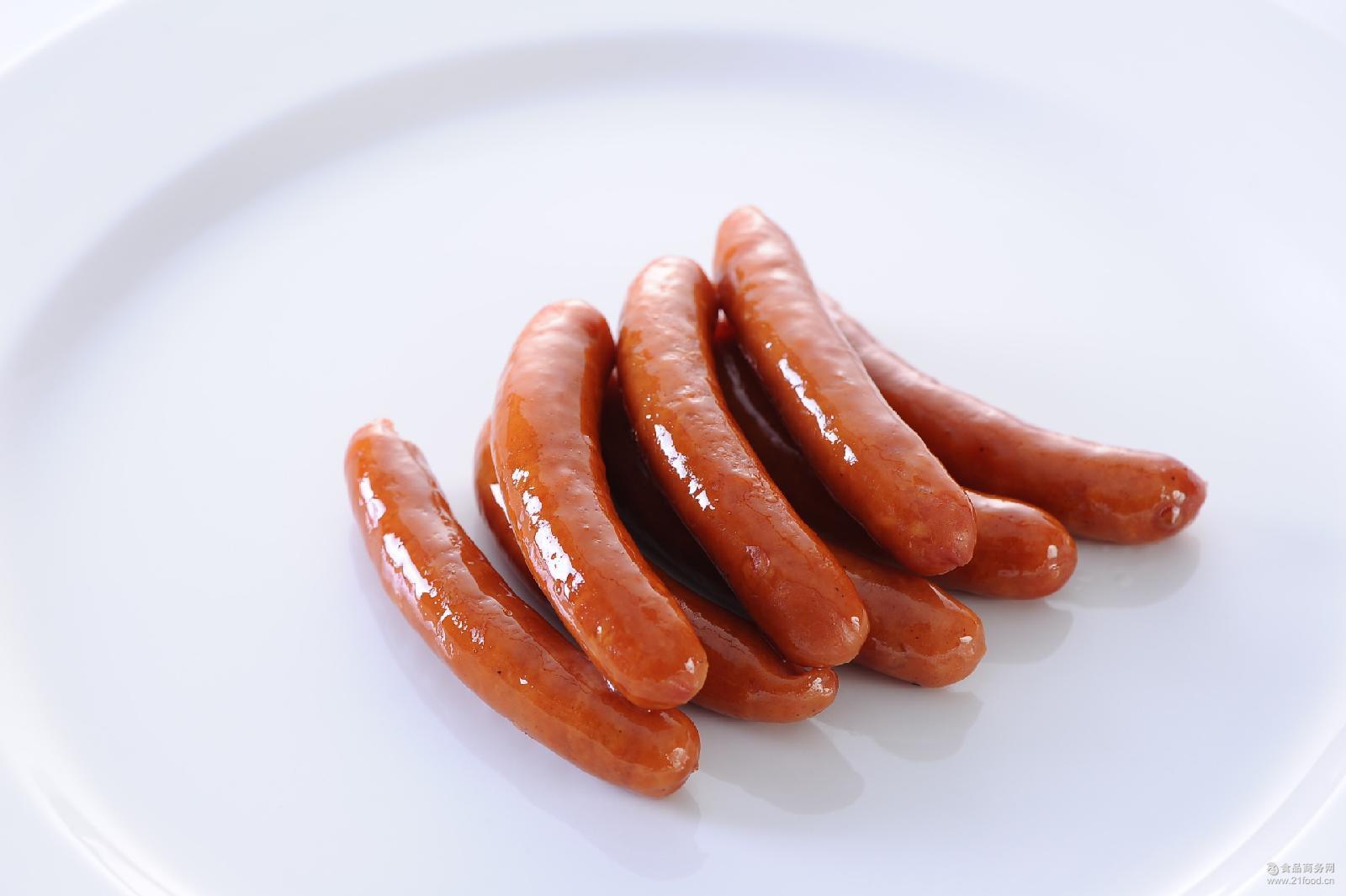优质批发维也纳香肠脆皮香肠烧烤香肠猪肉香肠量大可议价酒店食品