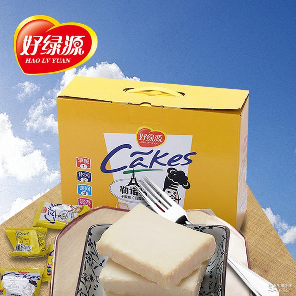 送礼佳品盒装蛋糕 厂家直销批发 好绿源巧克力面包干1000g