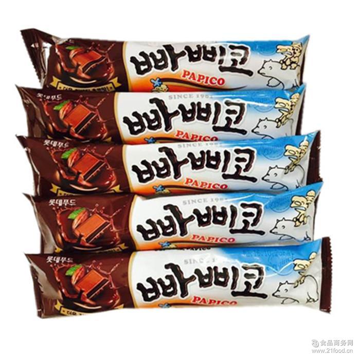 乐天巧克力雪糕 韩国 1*35/箱 韩国乐天冰棒