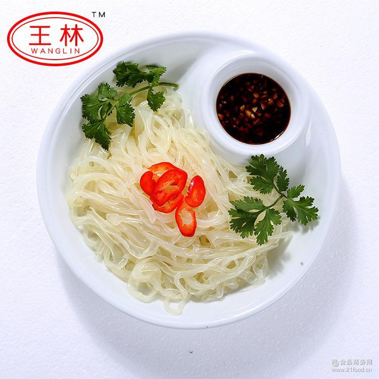 厂家直销徐州特产王林凉皮爽口绿豆粉皮夏季凉菜箱装特价批发