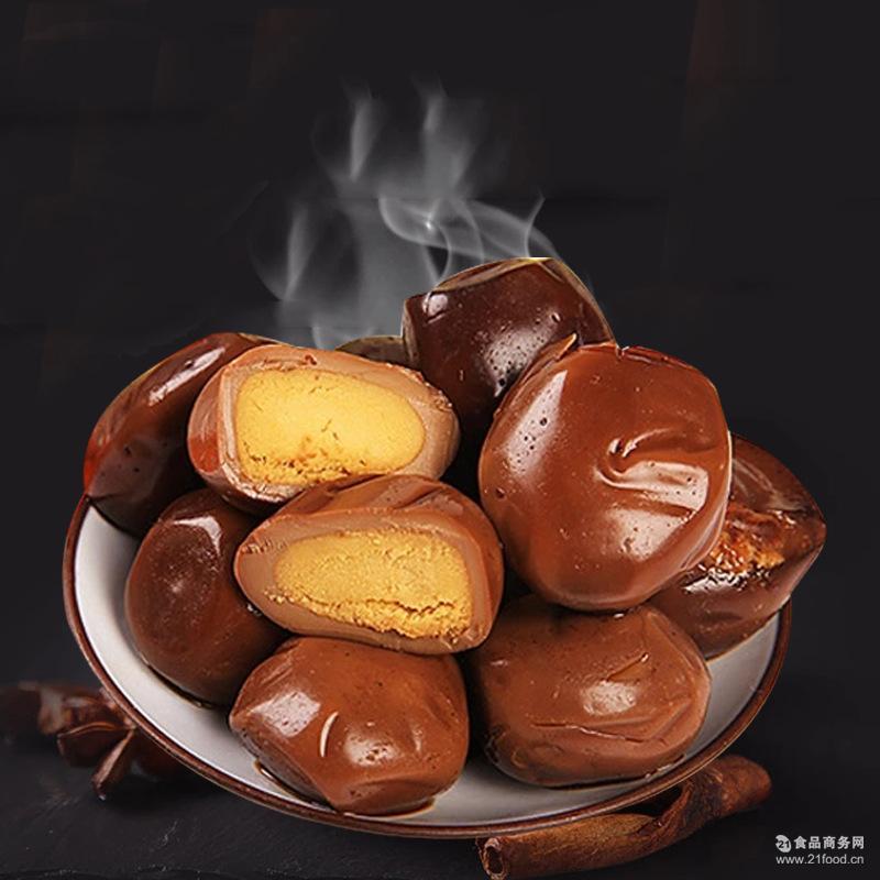 江苏特产禽蛋类零食 骥洋卤香鹌鹑蛋约40g醇正卤味 泡椒味