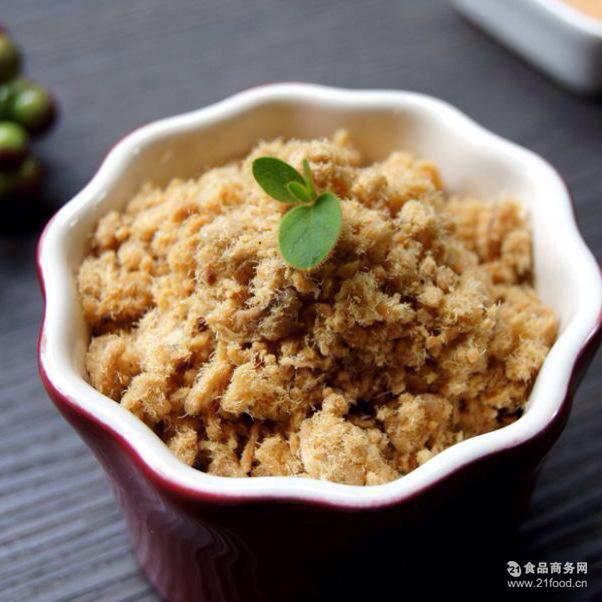 手工猪肉松潮汕特产酥脆肉松原味海苔味休闲零食批发10斤厂家直销